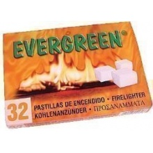 Kohleanzünder, Grillanzünder 32er Evergreen von 1a-handelsagentur Bild 1