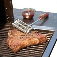 Grillfleisch Branding Grillbesteck-Set von Mei mei 9 Bild 1