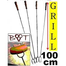 RIESEN-LANGE 100 cm Grillspieße u Gabel von BTV Batovi Bild 1