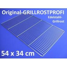 Edelstahl-Grillrost 54 x 34 cm,Grillrostpofi Bild 1