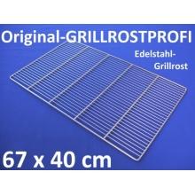 Edelstahl-Grillrost 67 x 40 cm,Grillrostprofi Bild 1