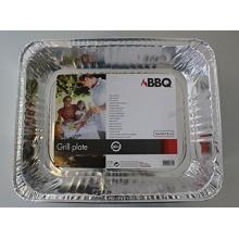 Alu Grillpfanne, Grillschale, 36x29x7,8 cm von BBQ Bild 1