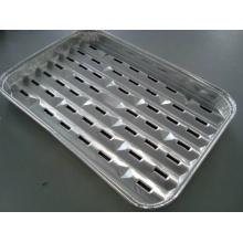 25 Stück Grillschalen aus Aluminium, 34 x 23 x 2,5 cm Bild 1