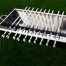 10 Grillspieße 40cm Fleischspieße OLYMP Bild 1