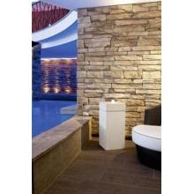 Design Wasserbrunnen Quadrigo mit LED Beleuchtung für Innen und Außen Bild 1