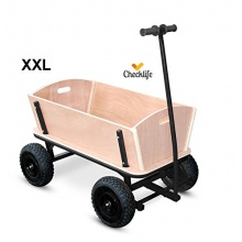 Checklife 900633 XXL stabiler Bollerwagen  Bild 1