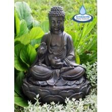 Zierbrunnen Gartenbrunnen Buddha Bild 1