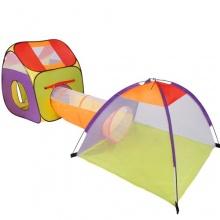 Kinderzelt,Spielzelt mit Tunnel und Iglu, Infantstic Bild 1