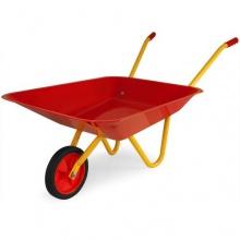 Kinderschubkarre Metall mit Vollgummibereifung DEUBA Bild 1