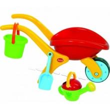 GOWI Design Schubkarren Set - 4 tlg Kinder Schubkarre Bild 1