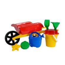 Simba 107136235 - Kinder Schubkarre gefüllt,2 sortiert Bild 1