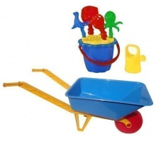 72cm Sandspielzeug Sandkasten Kinderschubkarre toys4u Bild 1