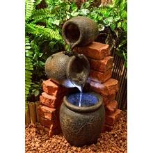 Kleiner Ölfass-Brunnen Bild 1