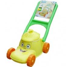 Kinderrasenmäher mit Geräusch und Eimer Spongebob gelb Bild 1