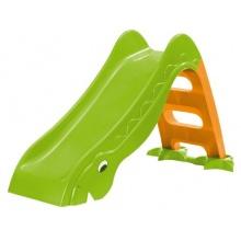 Outdoor Kinderrutsche TÜV und GS geprüft grün orange Bild 1