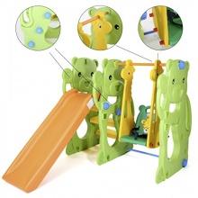 Baby Vivo Spielparadies Kinderrutsche - JUNGLE Bild 1