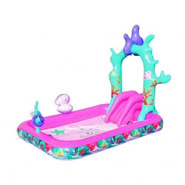 Bestway planschbecken disney princess kinderrutsche test for Garten pool testbericht