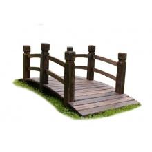Nexos Holzbrücke rustikal braun Bild 1