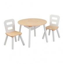 KidKraft, Runder Tisch mit 2 Stühlen,Kindersitzgruppe Bild 1