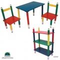 BLEISTIFT Kindermöbel Holz Set Kindersitzgruppe  Bild 1
