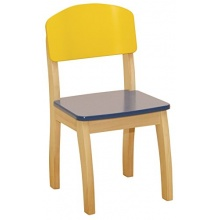 Roba,Kinderstuhl mit Formrücken,Kindersitzgruppe  Bild 1