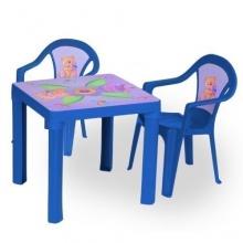 Kindersitzgruppe Tisch mit 2 Stühlen von toys4u Bild 1