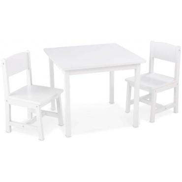 KidKraft, Aspen Tisch mit 2 Stühlen Kindersitzgruppe Bild 1