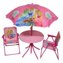 Disney Princess Kindersitzgruppe Set,Tisch, 2 Stühle  Bild 1