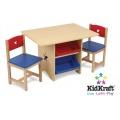 KidKraft Kindersitzgruppe Tisch- u 2-Stühle Sternchen Bild 1