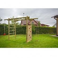 Klettergerüst Classic aus Holz von Gartenpirat Bild 1