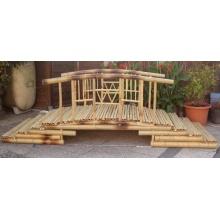 Bambus Brücke - Teichbrücke Bild 1