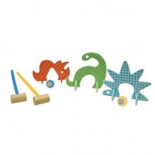 Manhattan Toy 212000 - Dino Club Krocket-Set Bild 1