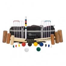 6 Personen Familien Croquet Set - Übergames Bild 1