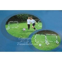 Kinder Mini Fußballtore, 2 Tore, Ball Bild 1