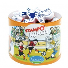 Aladine 3085129,Stampo Minos Fussball,Mini Fußballtore Bild 1
