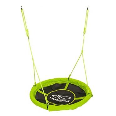 HUDORA 72156 - Nest schaukel, Durchmesser 110 cm, grün Bild 1