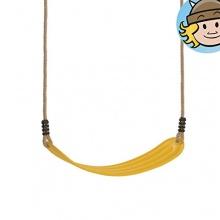 WICKEY elastischer Schaukelsitz Gelb,Schaukel Bild 1