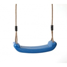 Schaukelsitz Schaukel Kunststoff blau von Gartenpirat Bild 1