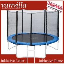 Trampolin 250cm, Leiter, Regenschutz, von vanvilla Bild 1