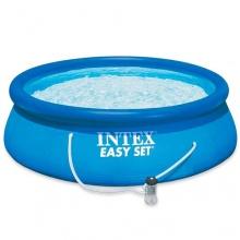 Intex 12-28112 Easy aufblasbarer Pool-Set, 244 x 76 cm Bild 1