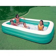 Intex 58484 Schwimm-Center Family aufblasbarer Pool Bild 1