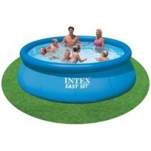 Easy aufblasbarer Pool, Intex, mit aufblasbarem Rand Bild 1