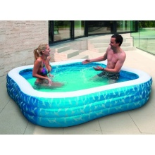 friedola aufblasbarer Pool Airbrush 230 x 230 x 56 cm Bild 1