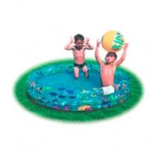 3-Ring- ,aufblasbarer Pool ca. 102x25 cm von HI Bild 1