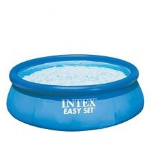 Intex Easy Set aufblasbarer Pool, 457x91 cm  Bild 1