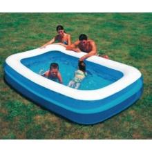 Bestway,aufblasbarer Pool 2 Rings, 211 x 132 x 46 cm Bild 1