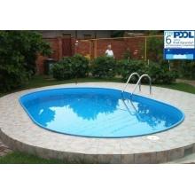 MyPool Ovalbecken-Poolset Premium eingelassener Pool Bild 1