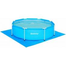 Bestway Pool Bodenfolien für 244er Pools Bild 1