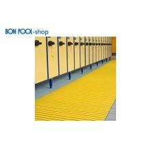 BON POOL Rutschfeste Bodenroste-Gelb-60 cm,Bodenfolie Bild 1