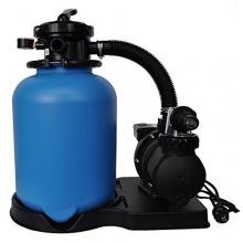 8,0m/h Sandfilter ECO400 mit SPS-100-1 Pool Filter OKU Bild 1